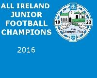 All Ireland Junior roll of Honor