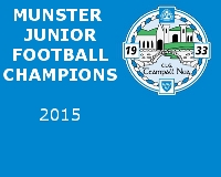 Munster Junior roll of Honor
