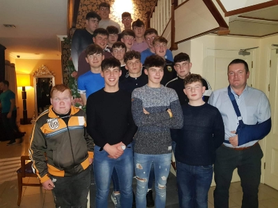 Underage Medal Presentation, Brook Lane Hotel, Dec 2018_2