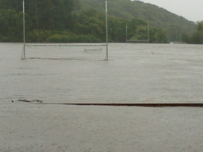 Dromore Sportsfield flooded 11/09/15_1
